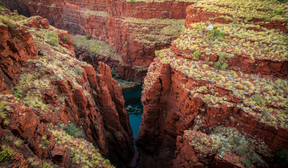 Oxer Lookout, Karijini National Park, WA.