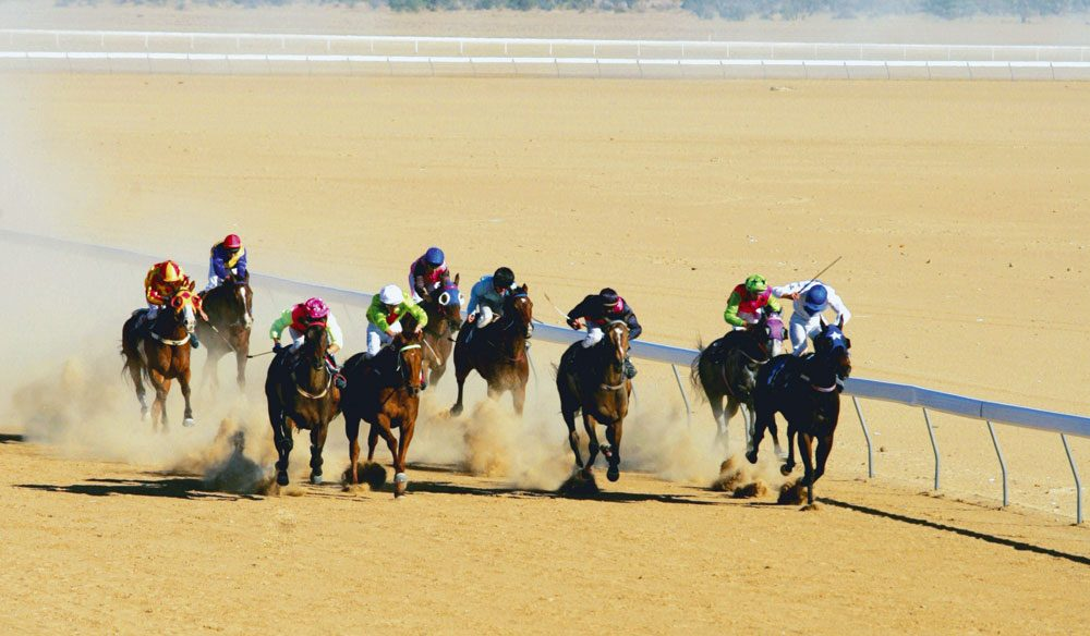 Birdsville Races (photo: Tourism and Events Queensland).