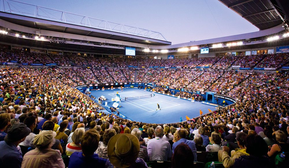 Australian Open: not just a tennis event but one of the top 100 holidays, according to our readers.