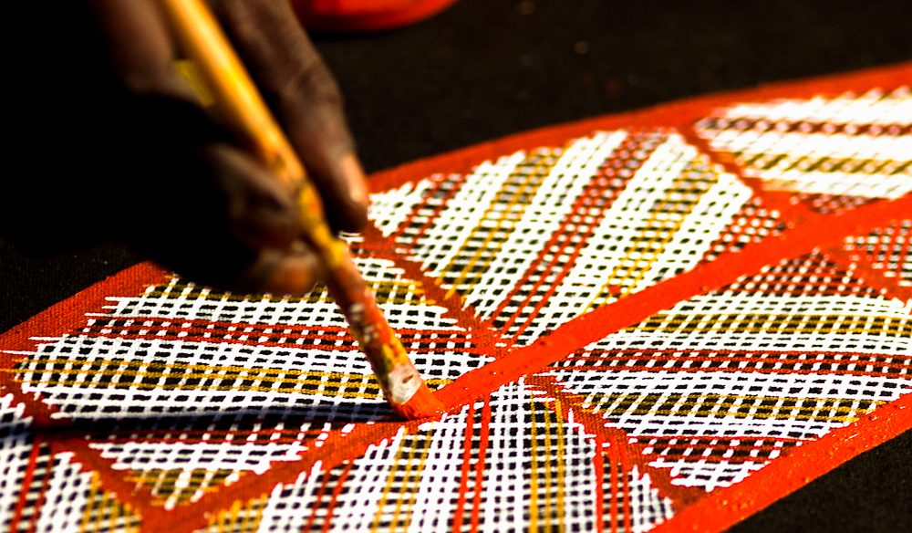 Timeless aboriginal art from its source plus you'll have a journey to remember.