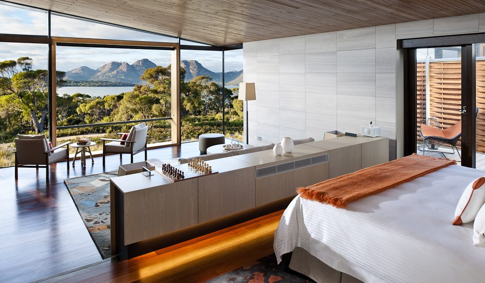 Saffire Freycinet, Tasmania, feels like home,