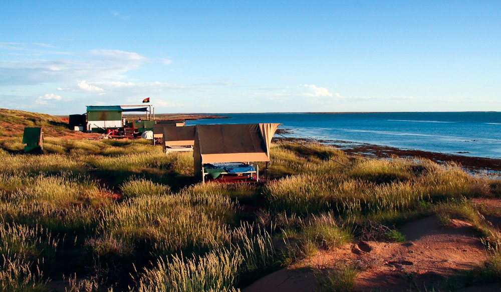 Wilderness Island Camp, off Exmouth.