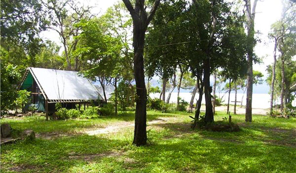 Cape York Camping's beach huts.