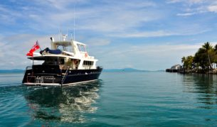 Five-star fishing on the Blue Martini around Cairns, Cooktown and Cape York.