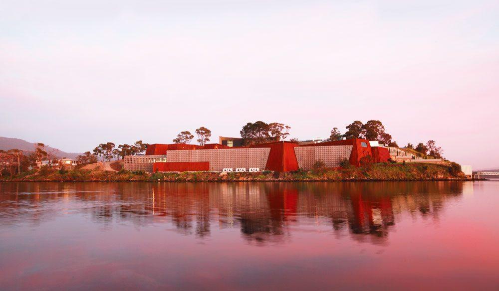 Groundbreaking: MONA, Hobart.