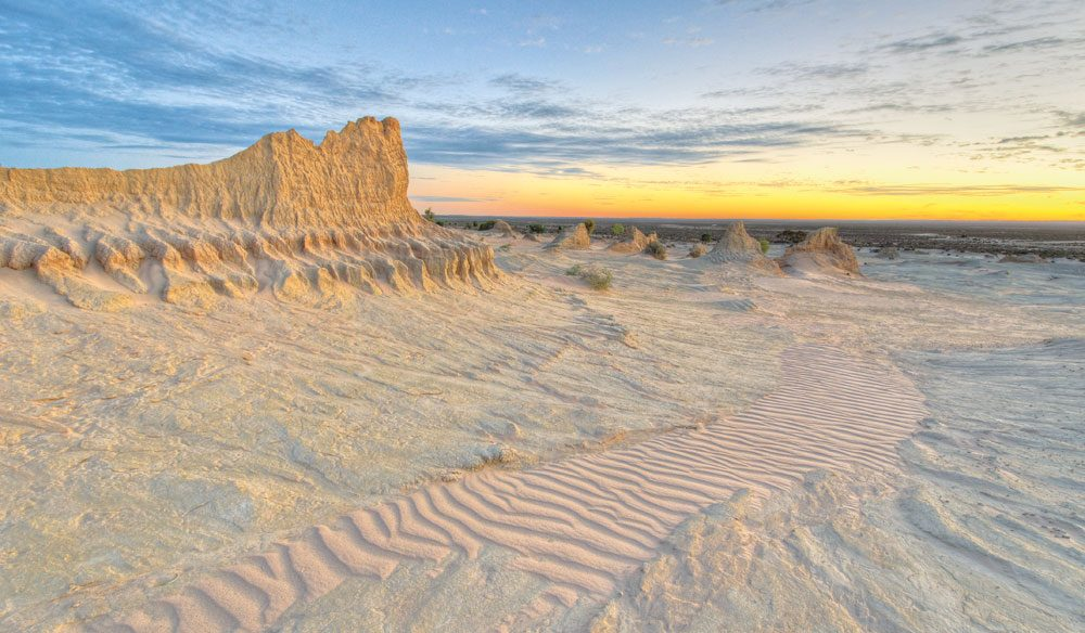 A living museum: Mungo National Park, western NSW.