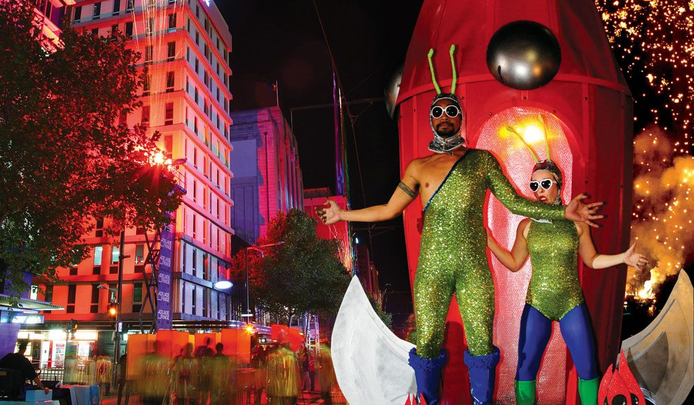 Question-raising energy: Adelaide's Fringe festival.