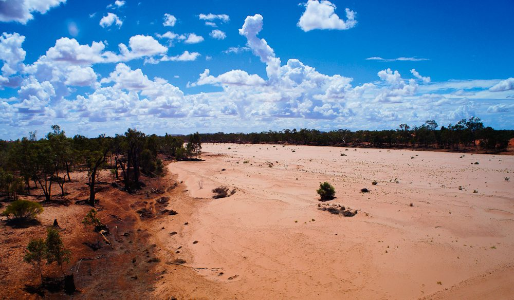 The remote Finke River.