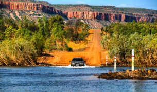 "AT editor Georgia Rickard says the Gibb River Road is a ""real Australian adventure""."