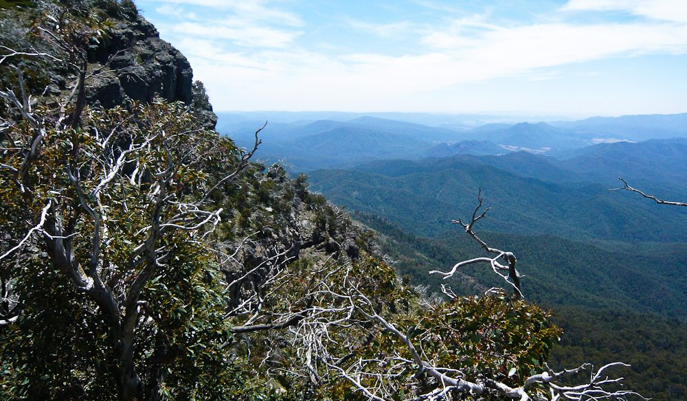 The vista from Mount Cobbler, Victoria.