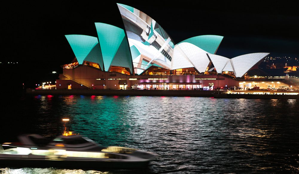 Vivid Festival, Sydney (Opera House Sails: Urban Screen)