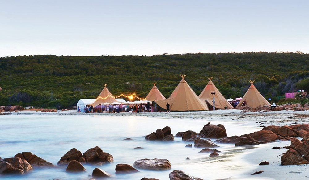 In-tents: Margaret River Gourmet Escape.