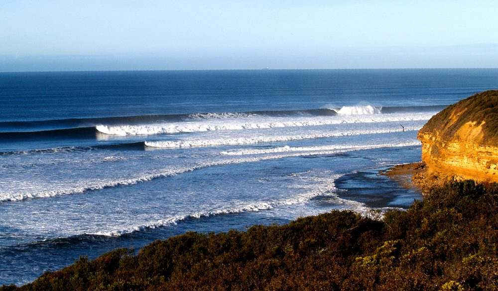 A surfing safari at legendary Bells Beach Victoria.