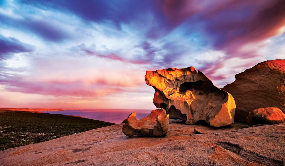 The name says it all: Remarkable Rocks, Kangaroo Island.