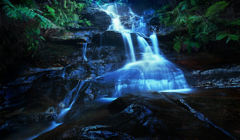 Leura Cascades, Blue Mountains.