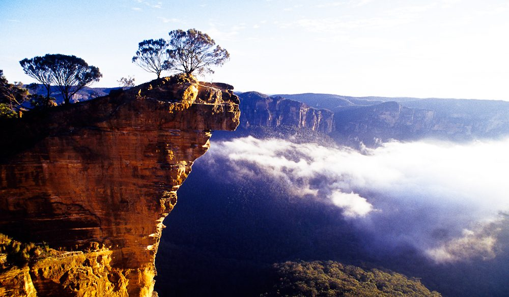 Hanging Rock, Blackheath, Blue Mountains.