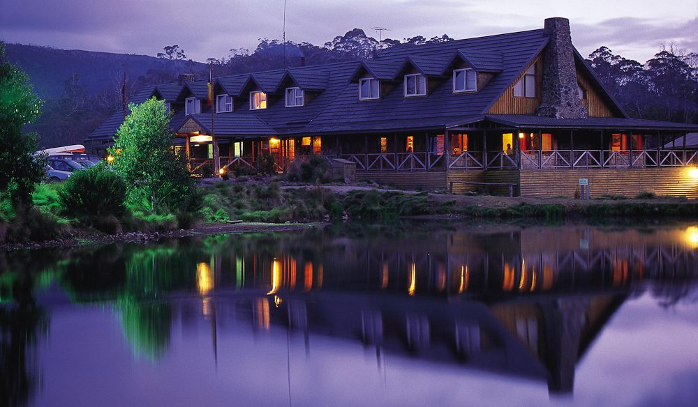 Gettng cosy: Cradle Mountain Lodge, Tasmania