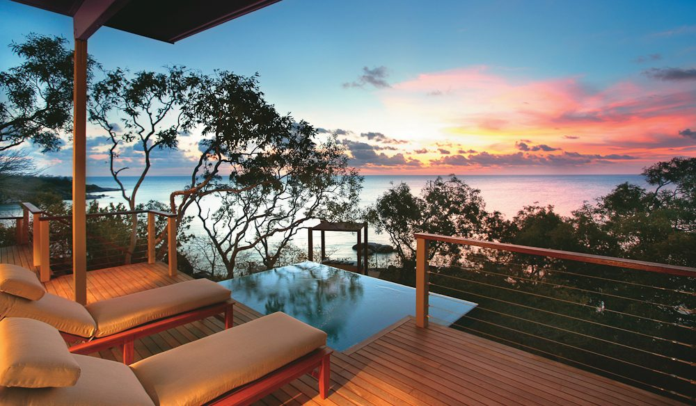 Sensational sunset: Lizard Island.