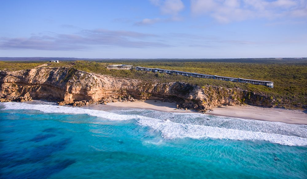 Southern Ocean Lodge, luxury accommodation, Kangaroo Island South Australia