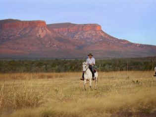 Horse riding the Cockburn Ranges, Home Valley Station, The Kimberley