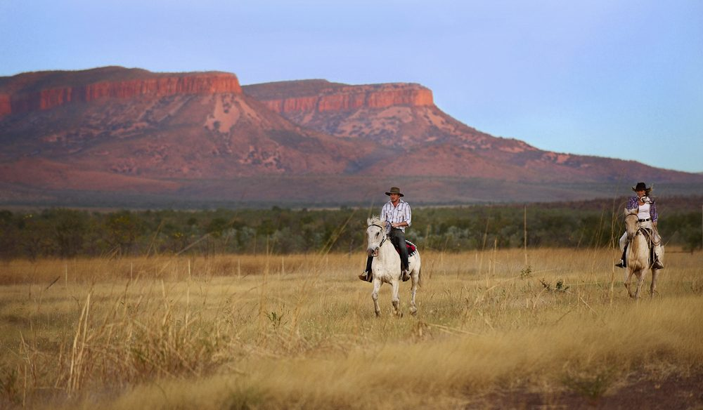 Riding the Cockburn Ranges, Home Valley Station, The Kimberley.