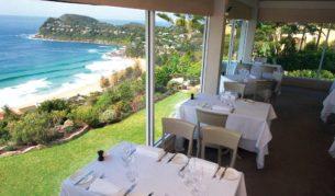 Jonah's Restaurant, Whale Beach, Sydney