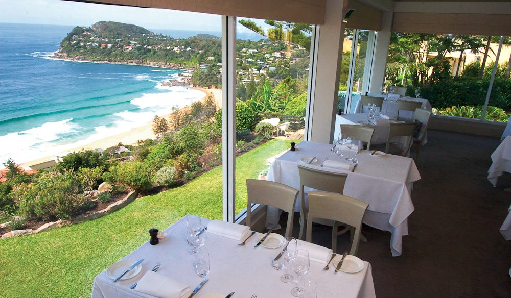For a Mother's Day splash-out: Jonah's, looking over Sydney's Whale Beach.
