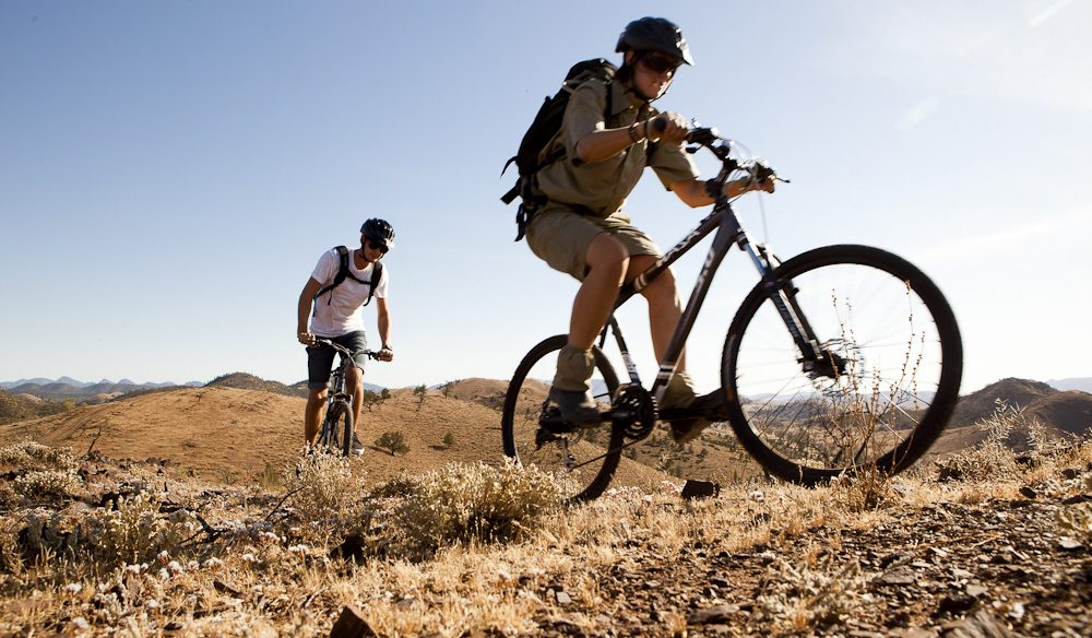 Mountain biking the Ranges: The Flinders are a lot more than just a hiking mecca.