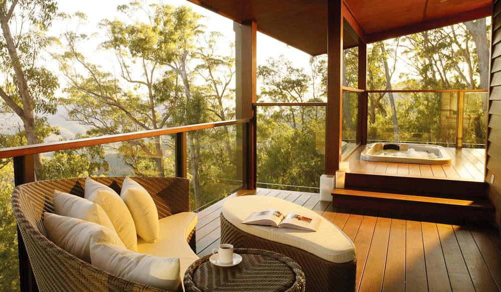 Peak of comfort: Spicers Peak Lodge, Southern Downs, Queensland.