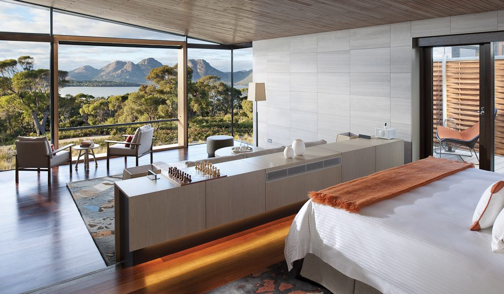 Saffire Freycinet luxury accommodation, Tasmania