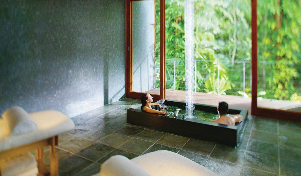 Luxury Daintree-inspired accommodation: Silky Oaks Lodge, Daintree, Queensland.