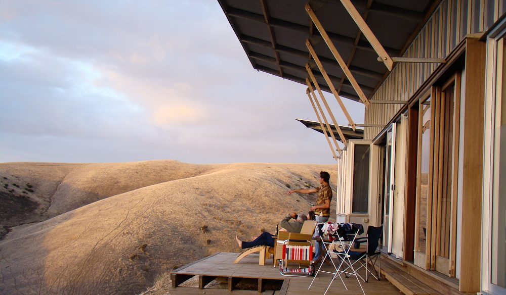 I spy: The dramatic and diverse panorama from Kangaroo Island Beach Lodge.