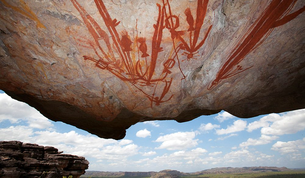 A chance to get up close with ancient rock art in Kakadu, Arnhem Land and Cobourg Peninsula and Port Essington (Venture North)