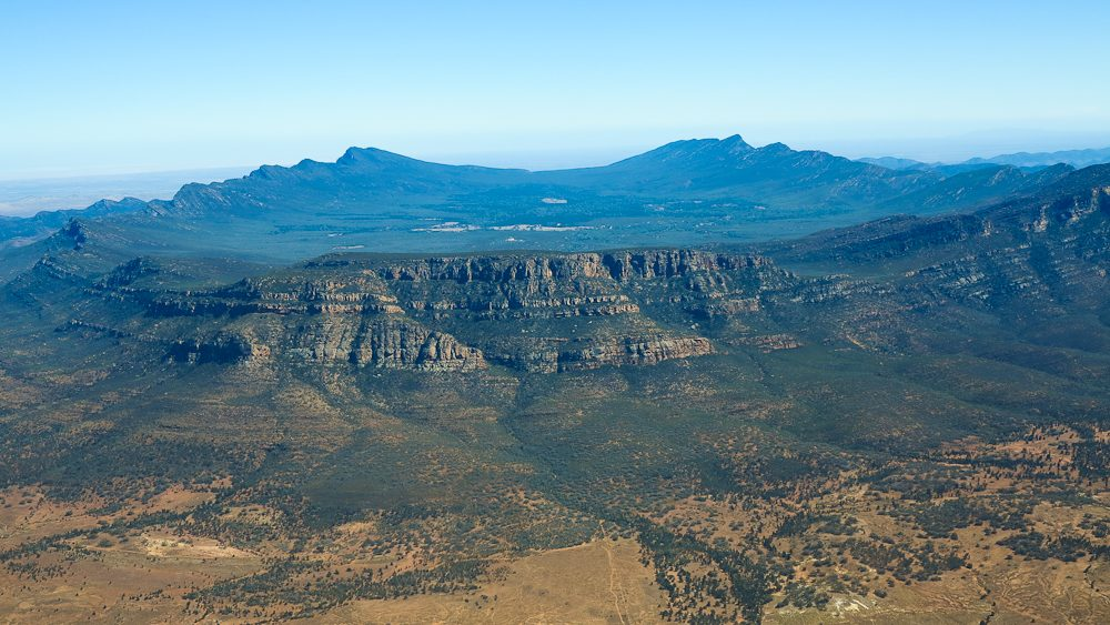 Hiking mecca: Wilpena Pound, Flinders Ranges, outback South Australia.