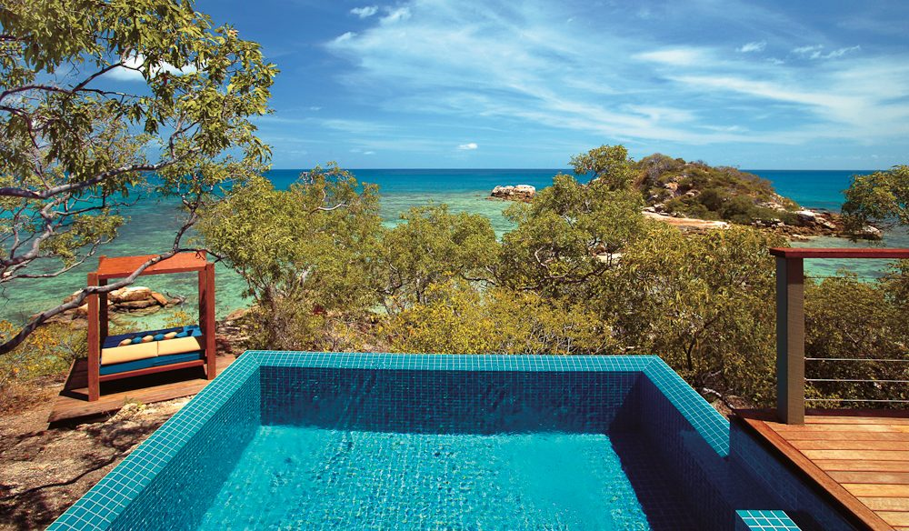 By the pool: Lizard Island, Far North Queensland