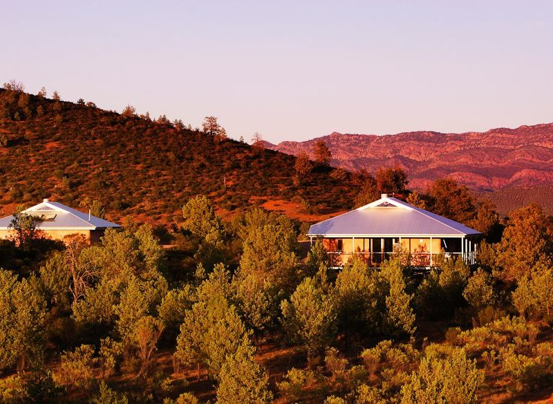 Rawnsley Park Station eco villas, Flinders Ranges, outback South Australia