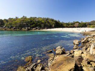 Shelly Beach near Manly Beach Sydney.