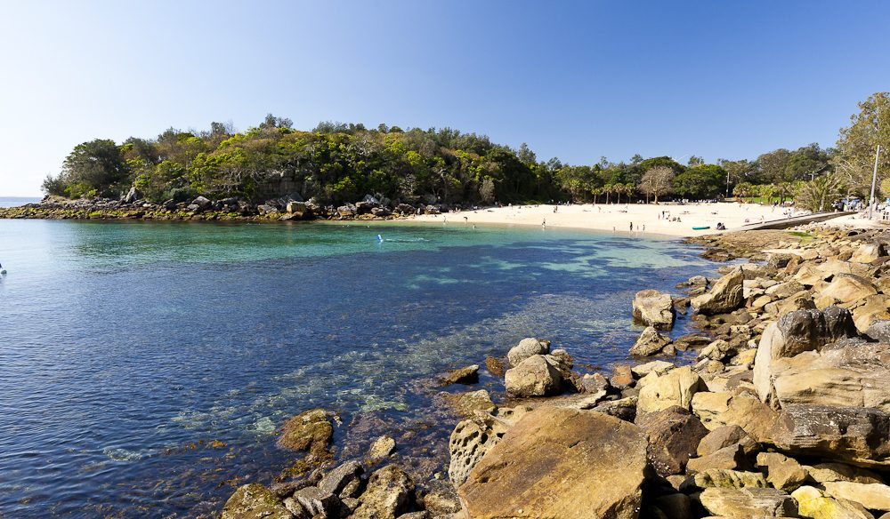 Worth the walk: Shelly Beach, a lovely stroll along the coast from Manly Beach.