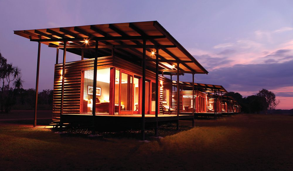 Kakadu indulgence: Wildman Wilderness Lodge.