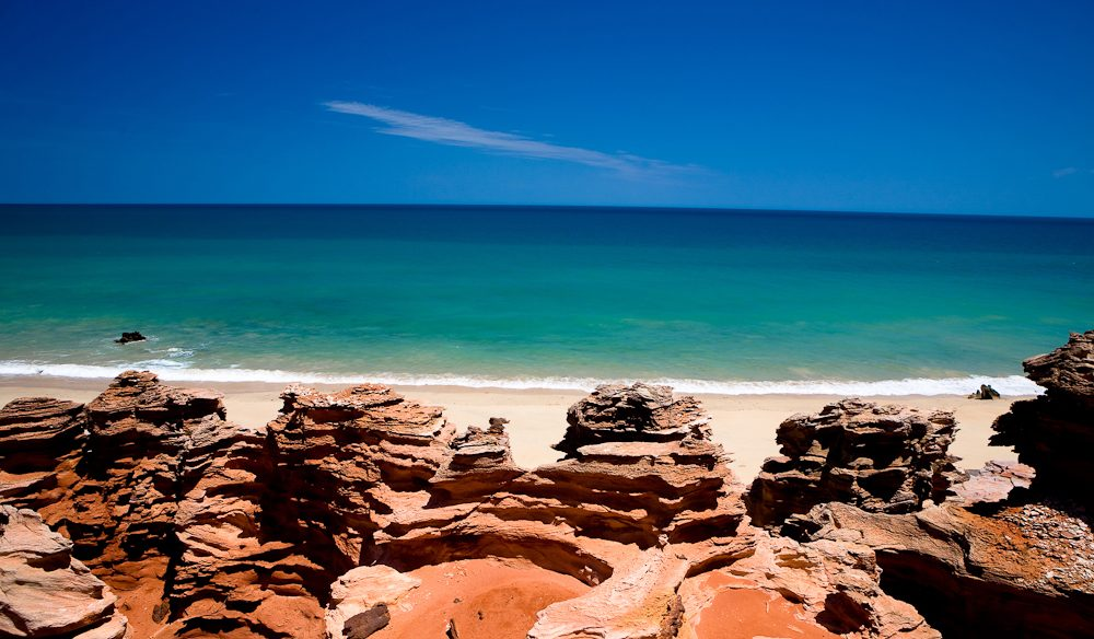 Eco Beach accommodation south of Broome, The Kimberley