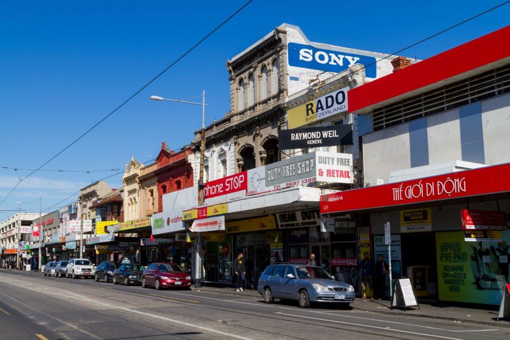 A street view of Footscray, by Roberto Seba