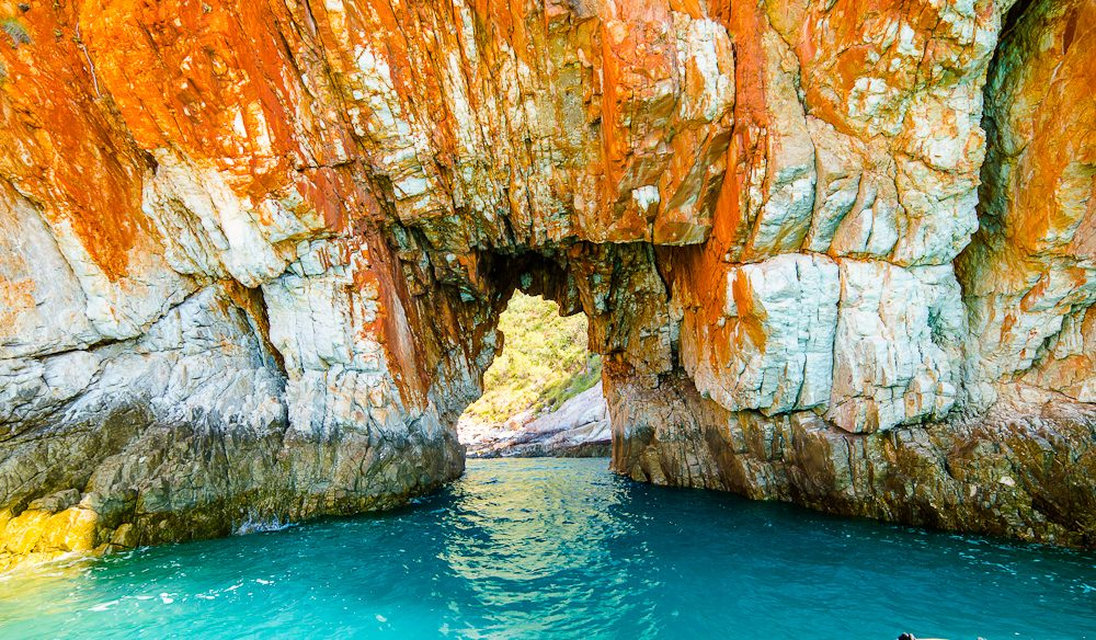 The azure waters of the Kimberley in North Western Australia