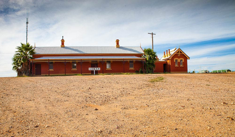Cobar Railway Station, outback NSW (photo: Nigel Herbert)