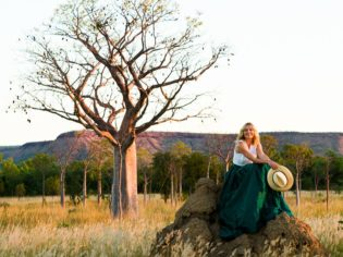 Allison Langdon at Mornington Wilderness sanctuary The Kimberley