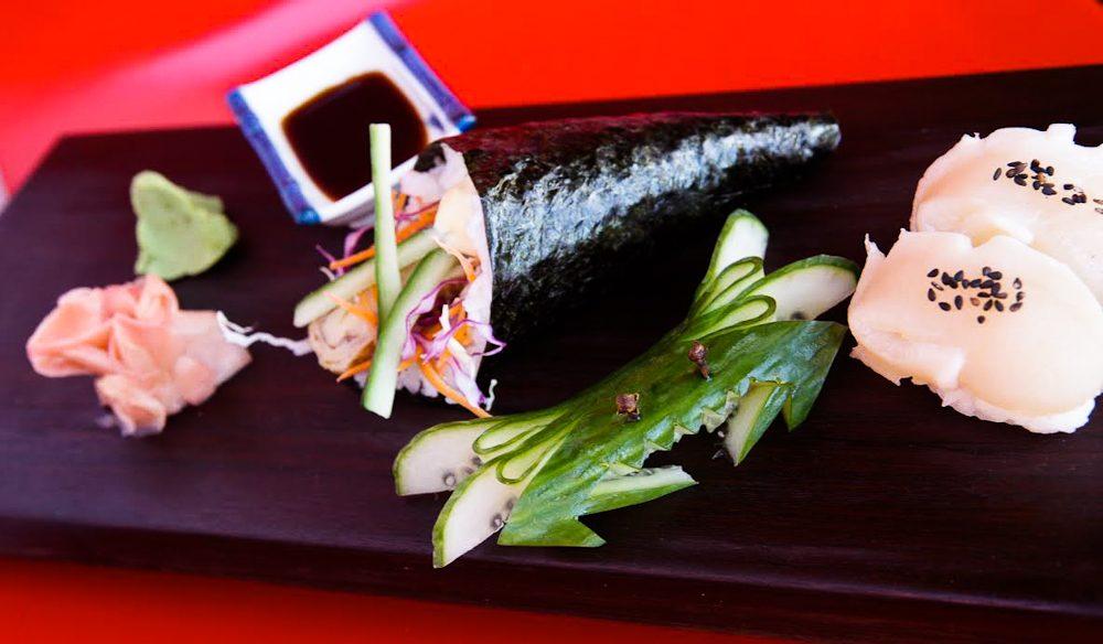 Fresh Broome seafood at Azuki Japanese Fusion.