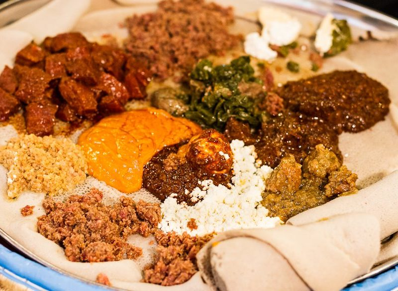 African Ethiopian food in Footscray Melbourne, good cheap eats in Melbourne