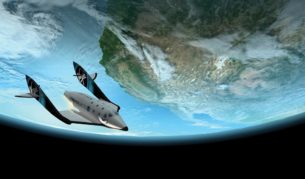 Earn frequent flyer points flying in to space with Virgin Galactic