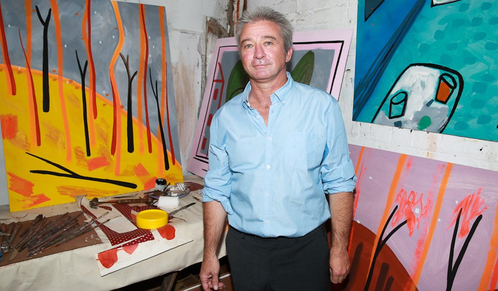 Artist Mark Schaller has painted a tribute to Bendigo (photo:  www.aplphotography.com.au).