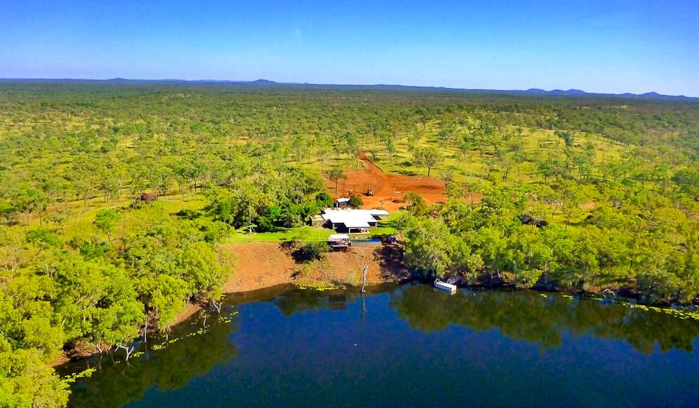 Crystalbrook Lodge sits on 34,000 hectares of bushland, west of Cairns.