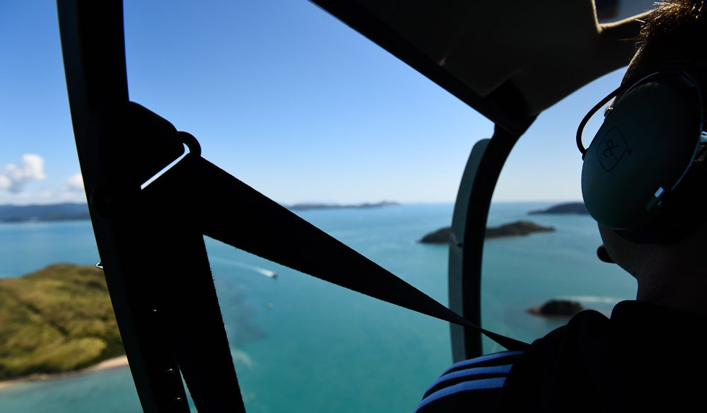 Feel the breeze: Open-door photography, Whitsundays.